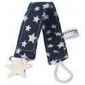 chupetero azul marino estrellas
