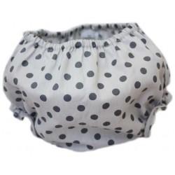 Culotte gris puntos