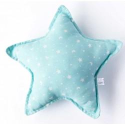 Cojin estrella bebé en color azul