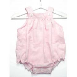 Ranita para bebé rosa vichy