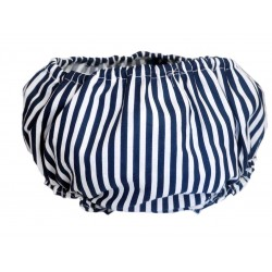 Cubre pañal para bebé navy