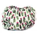 Cubre pañal para bebé cactus
