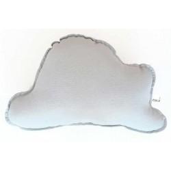 Cojin nube para bebé en color gris