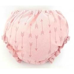 Cubre pañal para bebé con flechas rosas