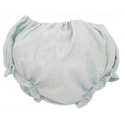 Cubre pañal bebé verde mint
