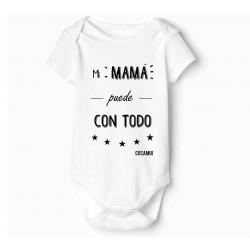 body bebé Original Mi mamá puede con todo