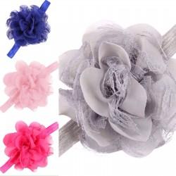 cinta flor de tela