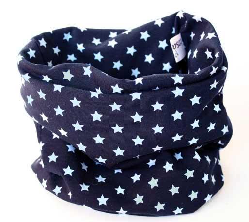 cuello para bebé estrellas