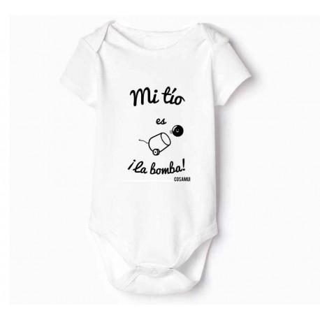 bodies para bebé Mi tío es la bomba