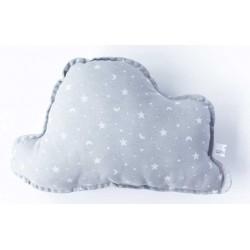 Cojin nube bebé en color gris