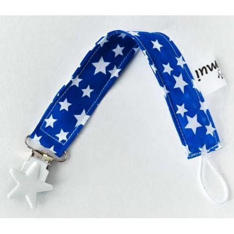 chupeteros tela azul estrella