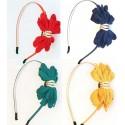Diadema bebe online flor varios colores