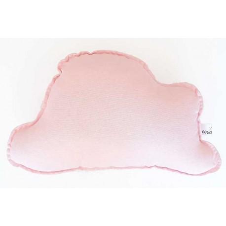 Cojin nube bebé color rosa