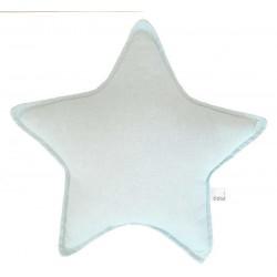 Cojin estrella para bebé en color verde