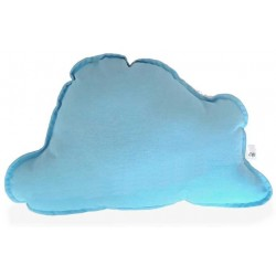 Cojin nube para bebé en color azul