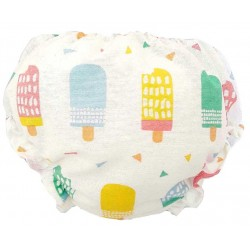 Cubre pañal para bebé con helados