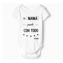 bodies bebés Originales Mi mamá puede con todo