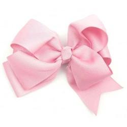 Gancho pelo bebé rosa