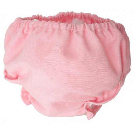 Cubrepañal bebe rosa