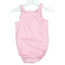 Peto Ranita para bebé rayas rosa