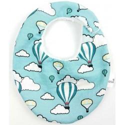 Babero para bebé globos