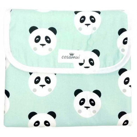 cambiador panda mint