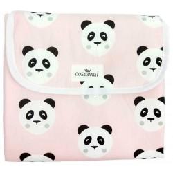 cambiador panda rosa