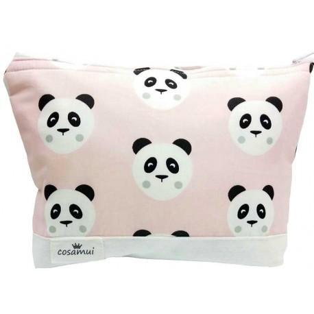 neceser osos panda rosa palo