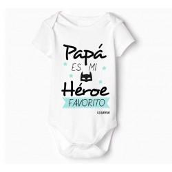 body bebé dia del padre personalizado