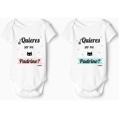 bodys bebé personalizado con frases divertidas Padrino