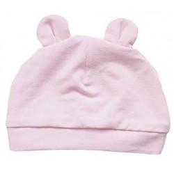 gorrito bebé rosa