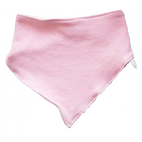 Bandana para bebé rosa