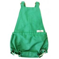 Pelele ranita para bebé en color verde