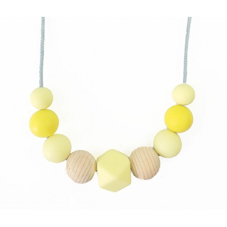 Collar lactancia amarillo