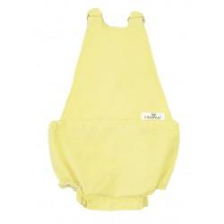 Pelele ranita bebé amarillo