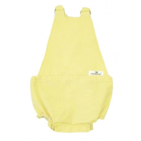 Pelele ranita bebé amarilo