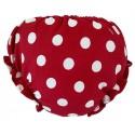 culottes para bebé con lunares rojo