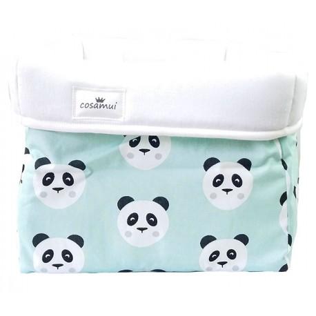 cesto de almacenaje panda mint