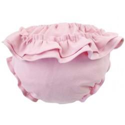 Culotte braguita con volante rosa