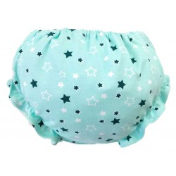 Culotte bebé verde star