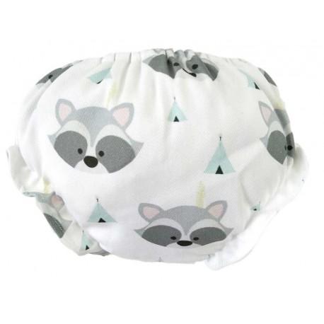 culottes para bebé mapaches tipi