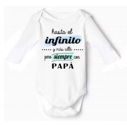 bodys bebé Hasta El Infinito Y Más Allá papá