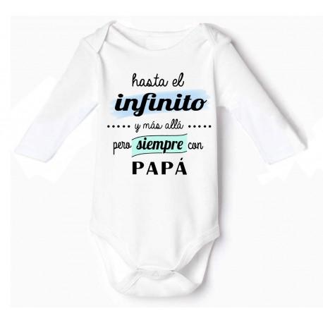 bodys originales bebé Hasta El Infinito Y Más Allá