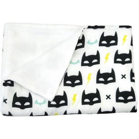 manta para bebé batman