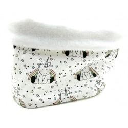 Braguita polar cuello bebé unicornios star
