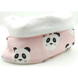 Braguita niño y niña oso panda rosa