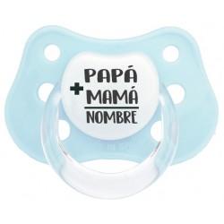 Chupete bebé mamá papá bebé