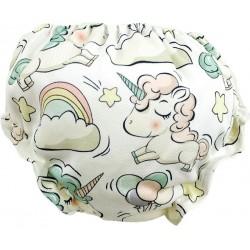 Cubrepañal para bebé Unicornio