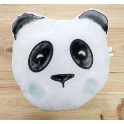 Cojin mapache oso panda