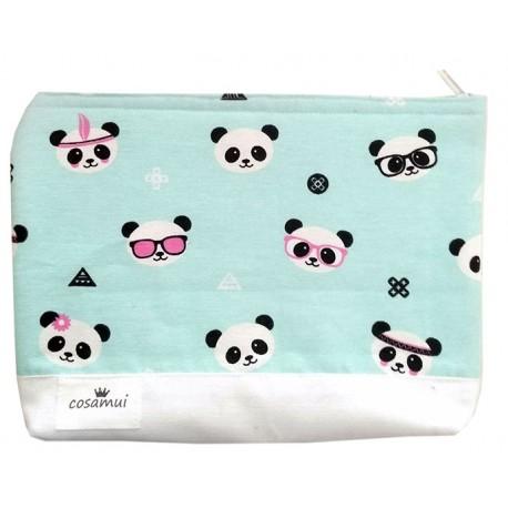 Neceser panda hippy